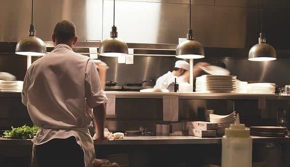 Køkken personale