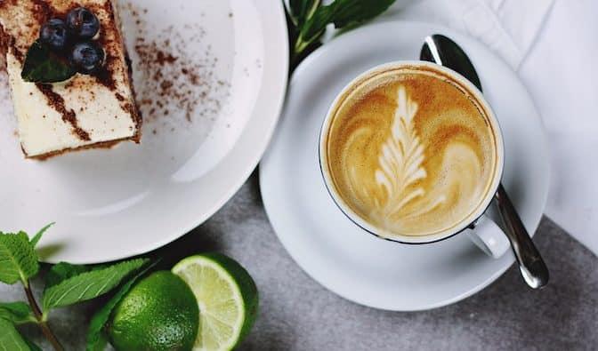 Kaffe og kage