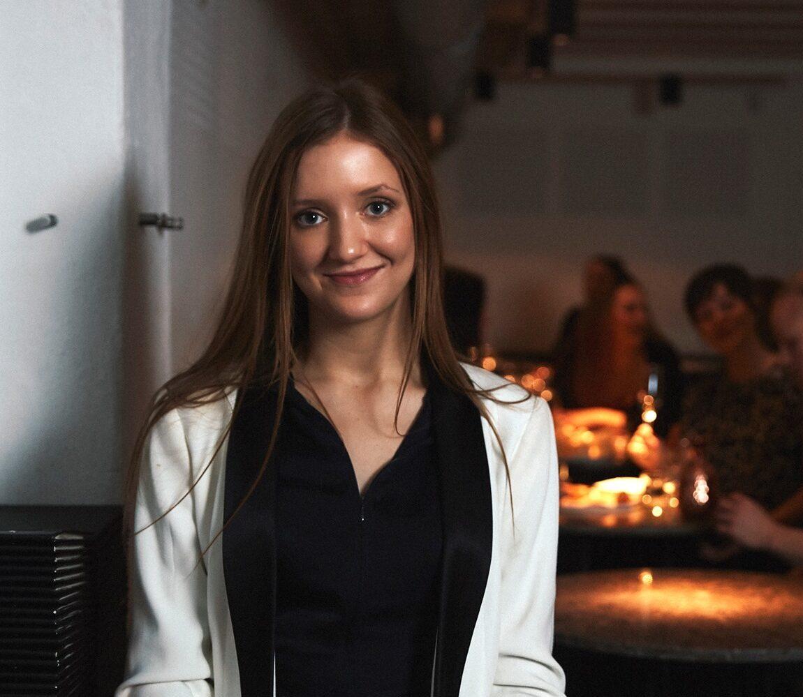 Portræt af Tanne Morville fra Gedulgt i forbindelse med hendes udtalelse om Relions vagtplan app